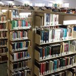 "Photo by: Shannon Hauser ""Over the Stacks 3"" University of Mary Washington's Simpson Library"